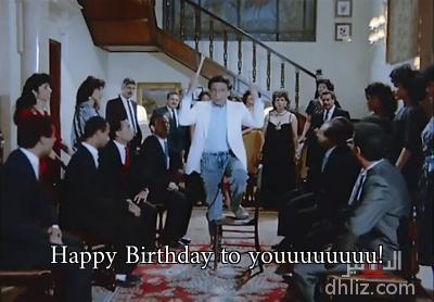 - Happy Birthday to youuuuuuuu!