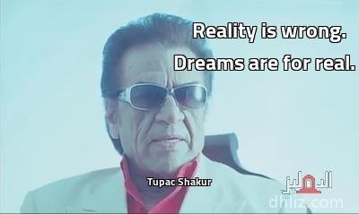 ميم من فيلم لا تراجُع ولا استسلام (القبضة الدامية) -                                           Reality is wrong.